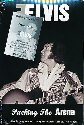 Elvis Collectors CD - Packing The Arena  (Deluxe Edition) Number #30 Free ship.