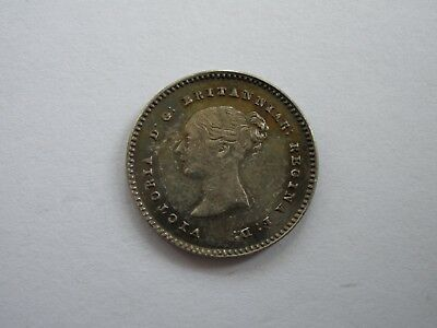 1842 Queen Victoria Maundy Twopence - Uncirculated - Uk Post Free