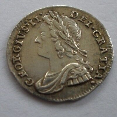 1740 George Ii Maundy Penny - Gef With Lustre - Uk Post Free