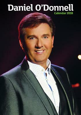 Daniel O Donnell 2018 Calendar Official Large A3 Size Uk Wall + Free Uk Postage