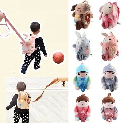 Kids Safety Harness Rein Toddler Backpack Walker Buddy Strap Child Baby Bags
