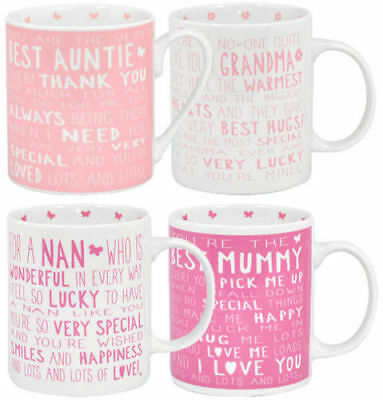 Messages of Love Auntie Grandma Mum Special Person Friend Nan Light Up Glass Jar