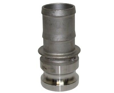 2 Inch E Type Cam lock hose fitting - 316 Stainless Steel