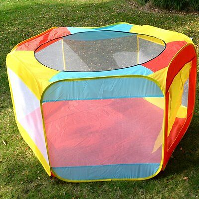Folding Portable Playpen Baby Play Yard With Travel Bag Indoor Outdoor Safety AS
