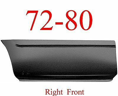 72 80 Dodge Right Front Lower Bed Panel 8' Regular & Club Cab Ram Truck 1580-142