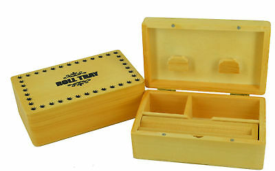 Rolling Wooden Boxes Medium Grass Leaf Smoking Cigarette Rolling Tray
