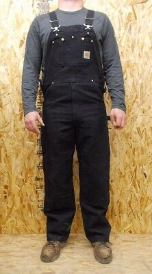 Men's Carhartt R01 Unlined Duck Bib Overalls