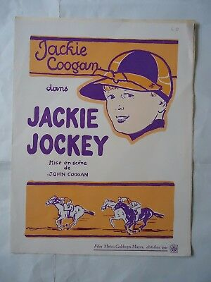 JACKIE COOGAN/JOHNNY GET YOUR HAIR CUT/1D/ french pressbook