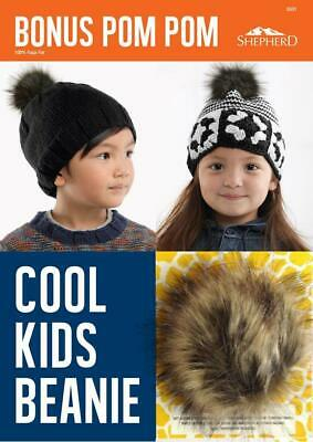 NEW Cool Kids Beanie 5501 Shepherd - Knitting, Crochet, Sewing, Patterns