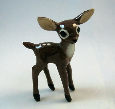 Hagen Renaker miniature made in America Deer Fawn walking retired v hard to find