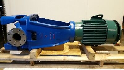 New Goulds 3996 4x6-13 pump, 316SS, 800 gpm @ 115 tdh w/ 30 hp 1800 rpm, #88482