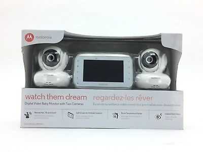 Motorola Digital Video Baby Monitor with 2 Cameras: MBP38S-2 (ST07)