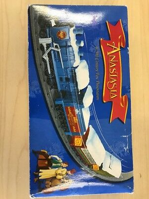 ANASTASIA 10 PC TRAIN SET In BOX BATTERY OPERATED BURGER KING 1997