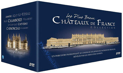 The Most Beautiful Castles in France NEW PAL Documentaries 21-DVD Set J. Vichet