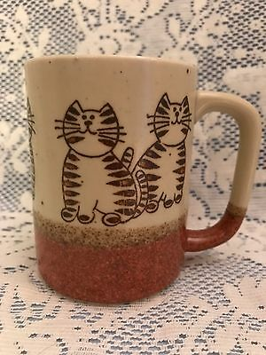 Brown Ceramic Cat Mug