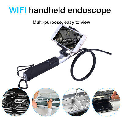 Wifi Endoscope 1080P Camera Waterproof Endoscopic HD Video Scope For Iphone 33FT