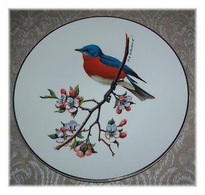 Bluebird Plate by Dpm Eckelberry, 1970's - Special Edition