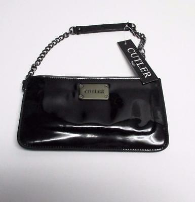 Brand New Black Cutler bag wrist golf purse