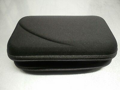 Black Protective Hard Carry Pouch for Diabetic supplies Organizer Carrying Case