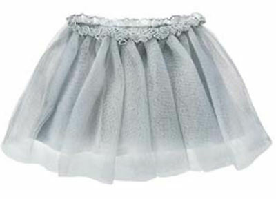 NWT Gymboree CUBS AND HUGS Silver Tulle Sparkle Skirt 12 18 FREE US SHIPPING NEW