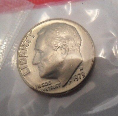 1979 D Roosevelt Dime  *MINT CELLO*   **FREE SHIPPING**