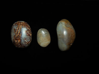 Pre-Columbian Jade Shaman Healing Stones Authentic Central America