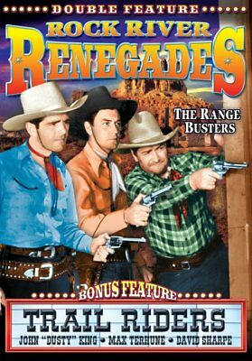 The Range Busters: Rock River Renegades / Trail Riders NEW DVD