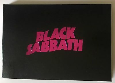 BLACK SABBATH THE END VIP TOUR BOOK Limited & Number RARE NEW ORIGINAL BO