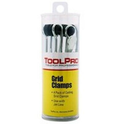 Grid Leveling Clamp 4Pk Tube, by Toolpro, PartNo TP05044, BEST SELLER!, High Qu