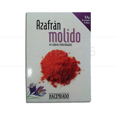 1 Pack Spanish Pure Grounded Saffron (4 Sachets Each Pack)