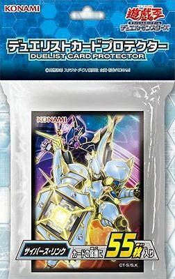 konami Japanese yugioh  Duelist card protecter Sleeve Cyberse Link Free shipping