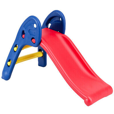 Step 2 Children Folding Slide Plastic Fun Toy Up-down For Kids Indoor & Outdoor