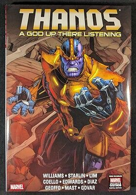 Thanos A God Up There Is Listening HC! Great condition!