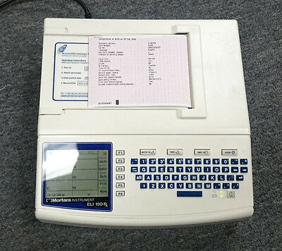Mortara ELI150rx ECG/EKG Machine w/Interpretation... New Year Clearance!