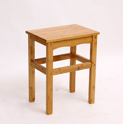 bamboo wooden child stool rest stool fishing strong, light durable base 竹制小方凳