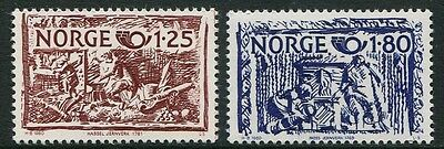 Nordic Co-Operation Issue 1980 - Mnh Set Of Two (Bl315-Rr)