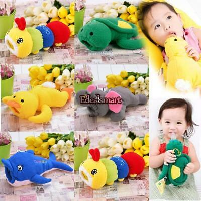 New Baby Feeding Cute Bottle Plush Pouch Covers Nursing Keep Warm Holders Case