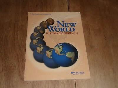 Abeka history of the world 1999 picclick abeka new world history and geography map studies and review keys gumiabroncs Image collections