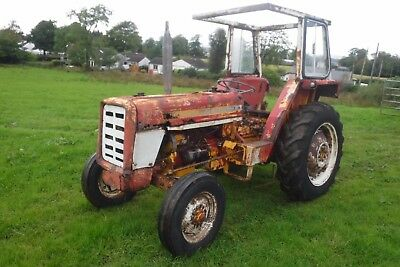 International 354 Cheap Running Driving Tractor Can Deliver Starts Runs Drives