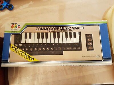 Commodore Music Maker Keyboard Cassette and User Guide