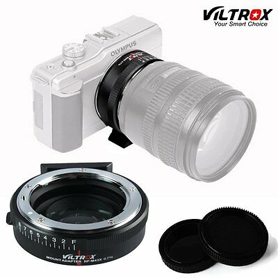 VILTROX NF-E MOUNT Focal Reducer Speed Booster Adapter For Nikon F