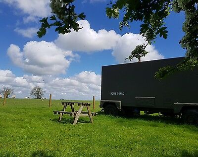 Army Trailer Glamping Break Oxfordshire Glamping Thorpe