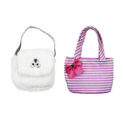 Doll Party Accessories Fashion Hand Bag for 18inch American Girl Doll - 2pcs