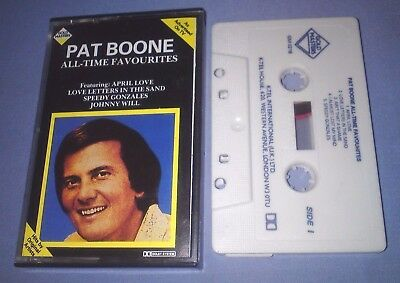 PAT BOONE ALL TIME FAVOURITES cassette tape album T3664