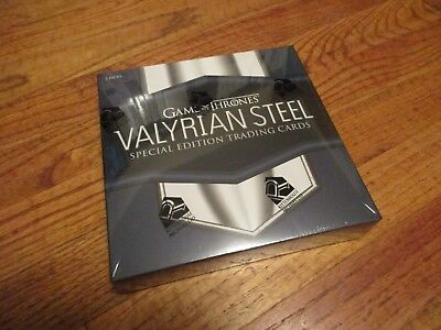 Game of Thrones Valyrian Steel Special Edition Sealed Box with 3 Packs / 3 Hits