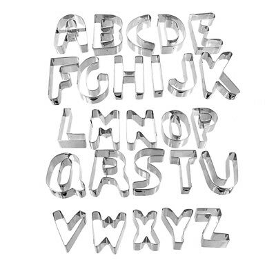 Alphabet Cutter Set-Large by Ateco