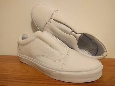 07498410b21a VANS NEW OLD Skool Laceless DX Leather Vault Size USA 9 UK 8.5 EUR ...