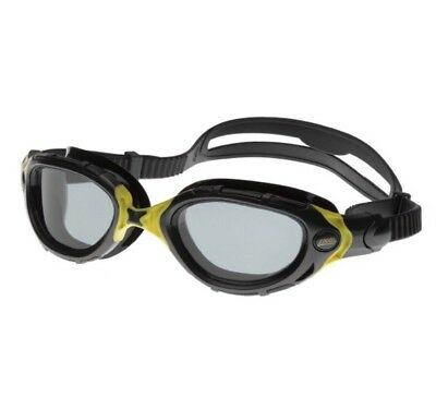 Zoggs Predator Flex Black|Yellow Swimming Goggles