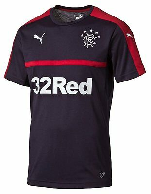 2016-2017 Rangers Puma Training Shirt (Navy)