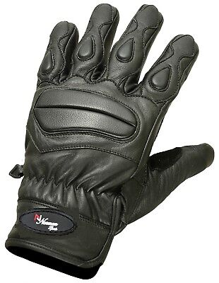 New Lite Summer Leather Motorcycle Gloves Motorbike Tactical Mittens Knuckle Pad